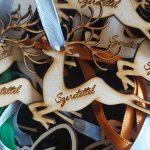 Karácsonyfa dísz ajándék